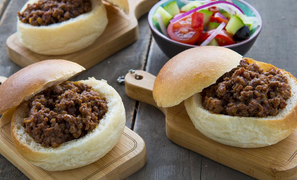 Hollandse bapao met gekruid rundvlees