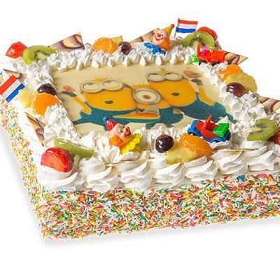 Foto slagroom taart